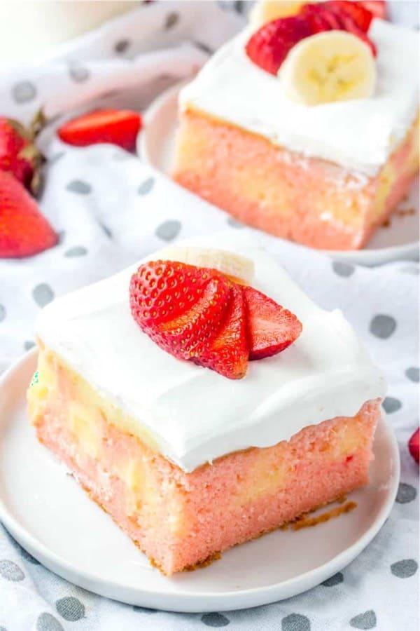 banana filled sheet cake recipe