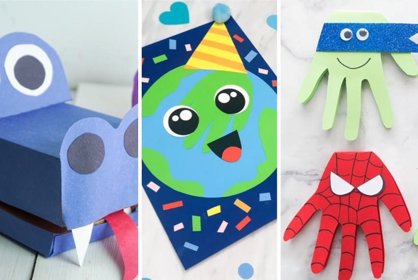 20+ Best Construction Paper Crafts For Kids