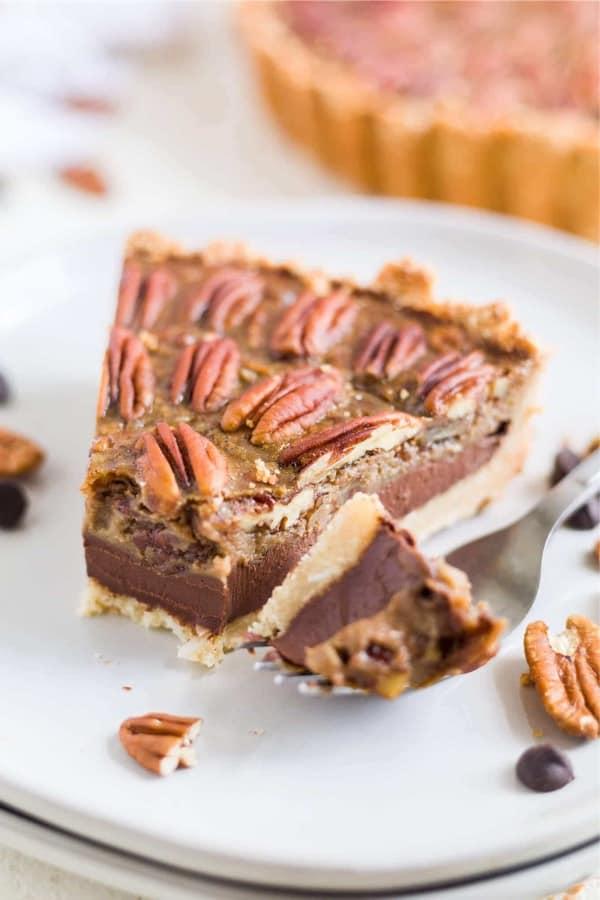 chocolate pecan thanksgiving pie recipe