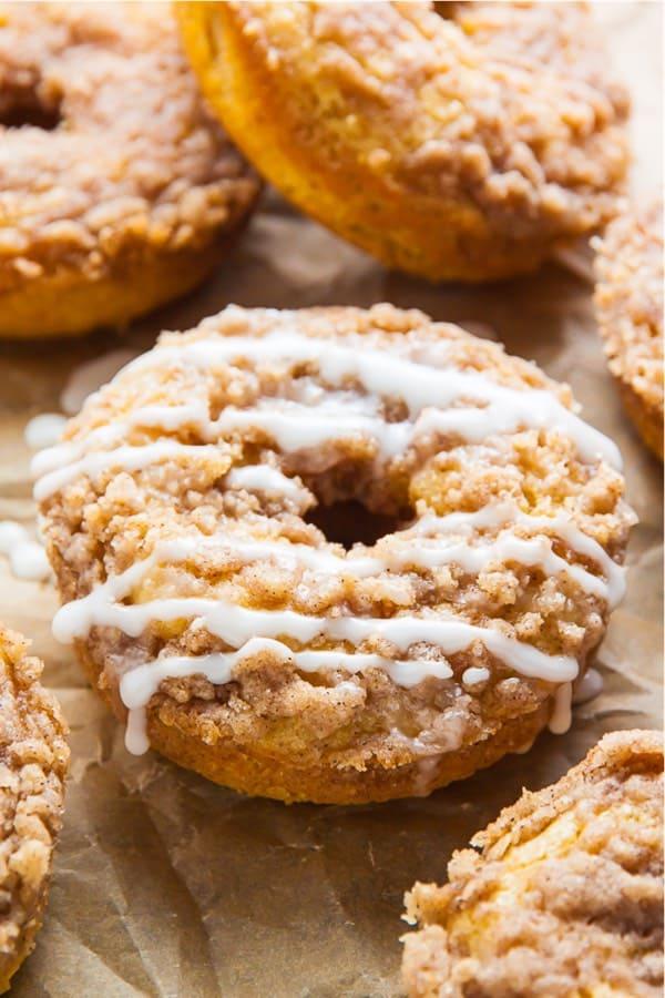 handmade coffee cake donut recipe