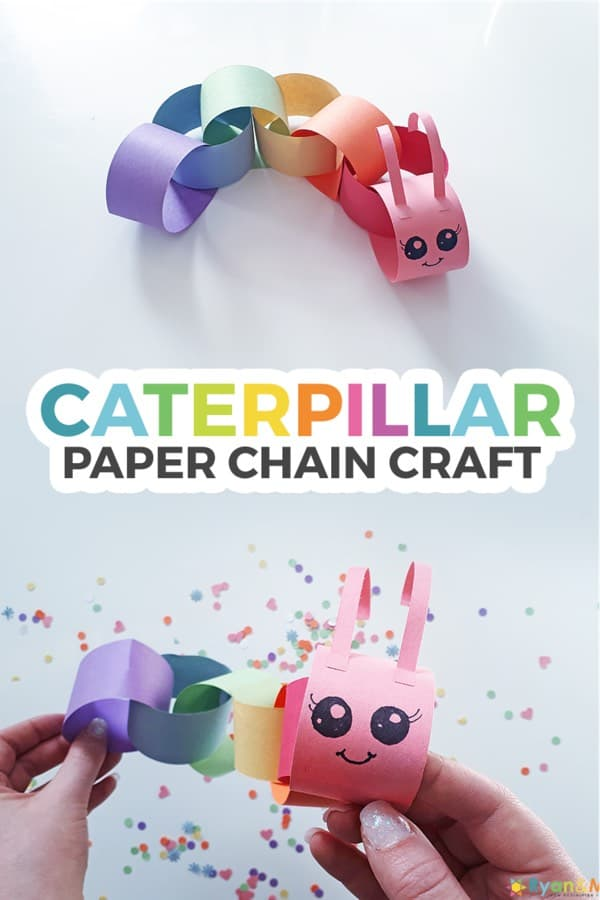 easy to make paper chain craft for young kids