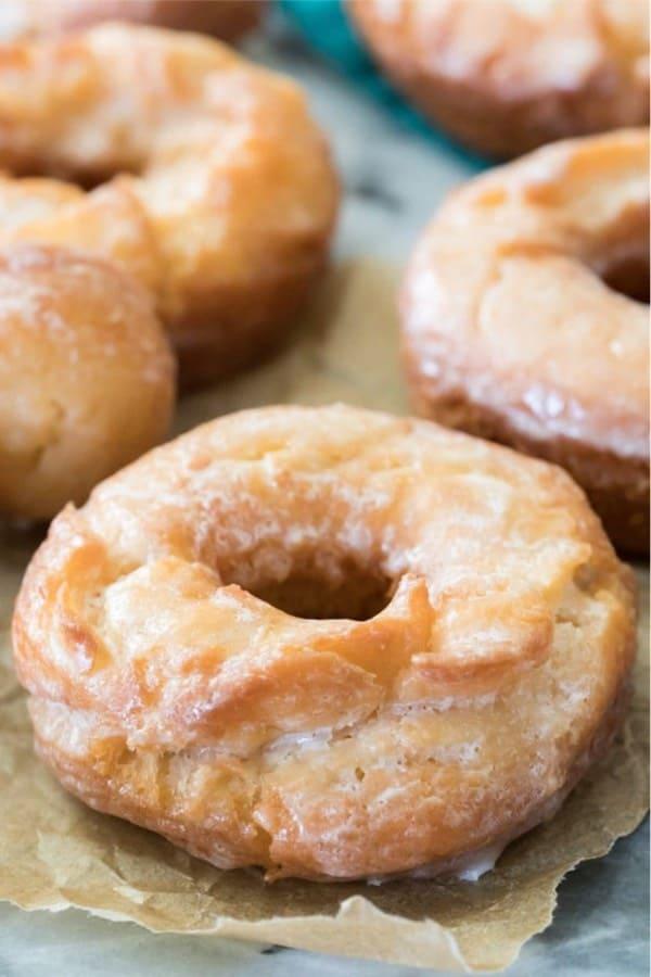 recipe tutorial for sour cream doughnuts