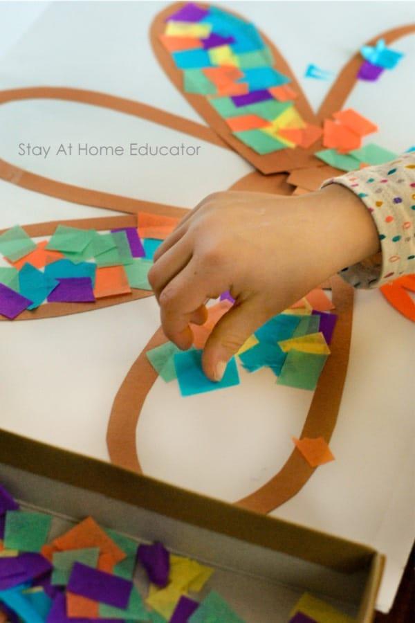 turkey suncatcher craft for kids