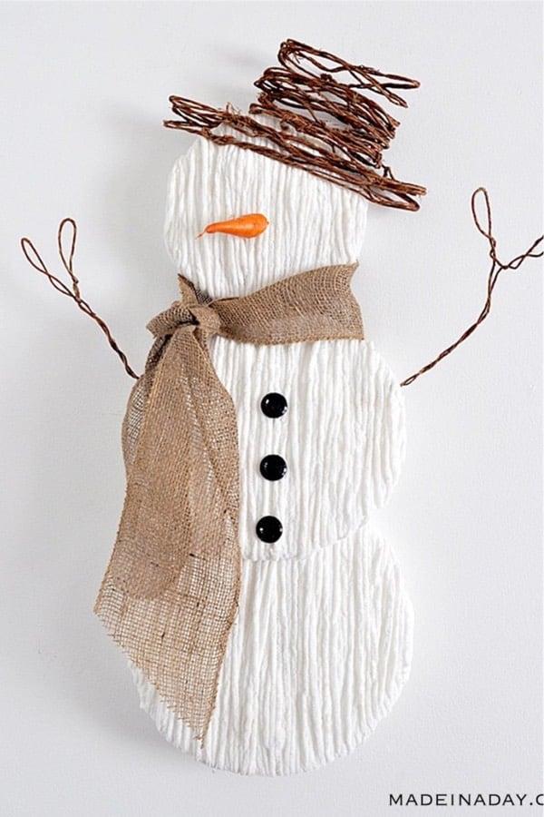 winter craft to make with yarn