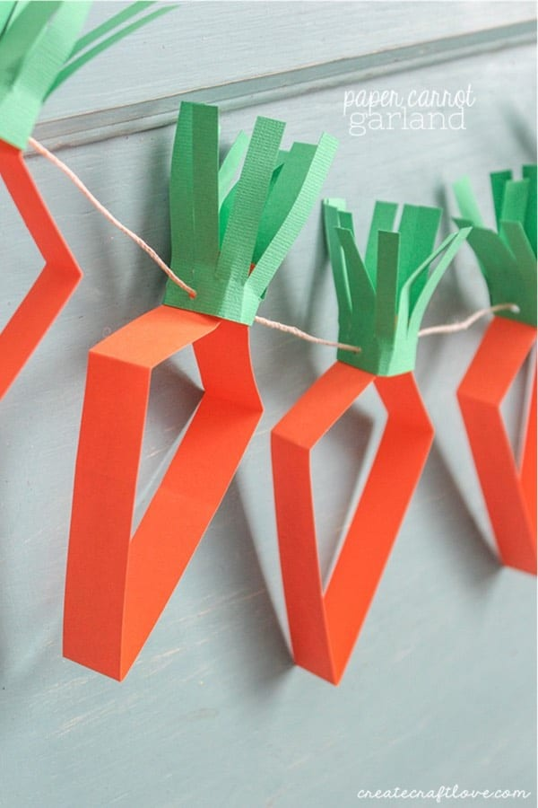 easter craft made with construction paper