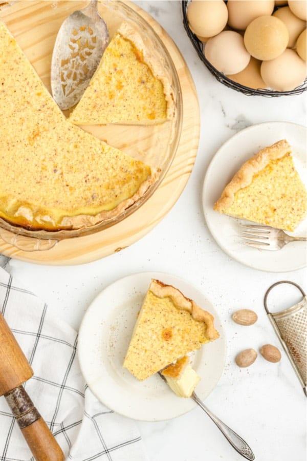 simple to make custard dessert