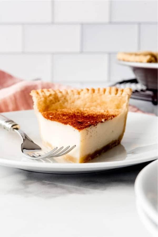 thanksgiving sugar cream pie recipe