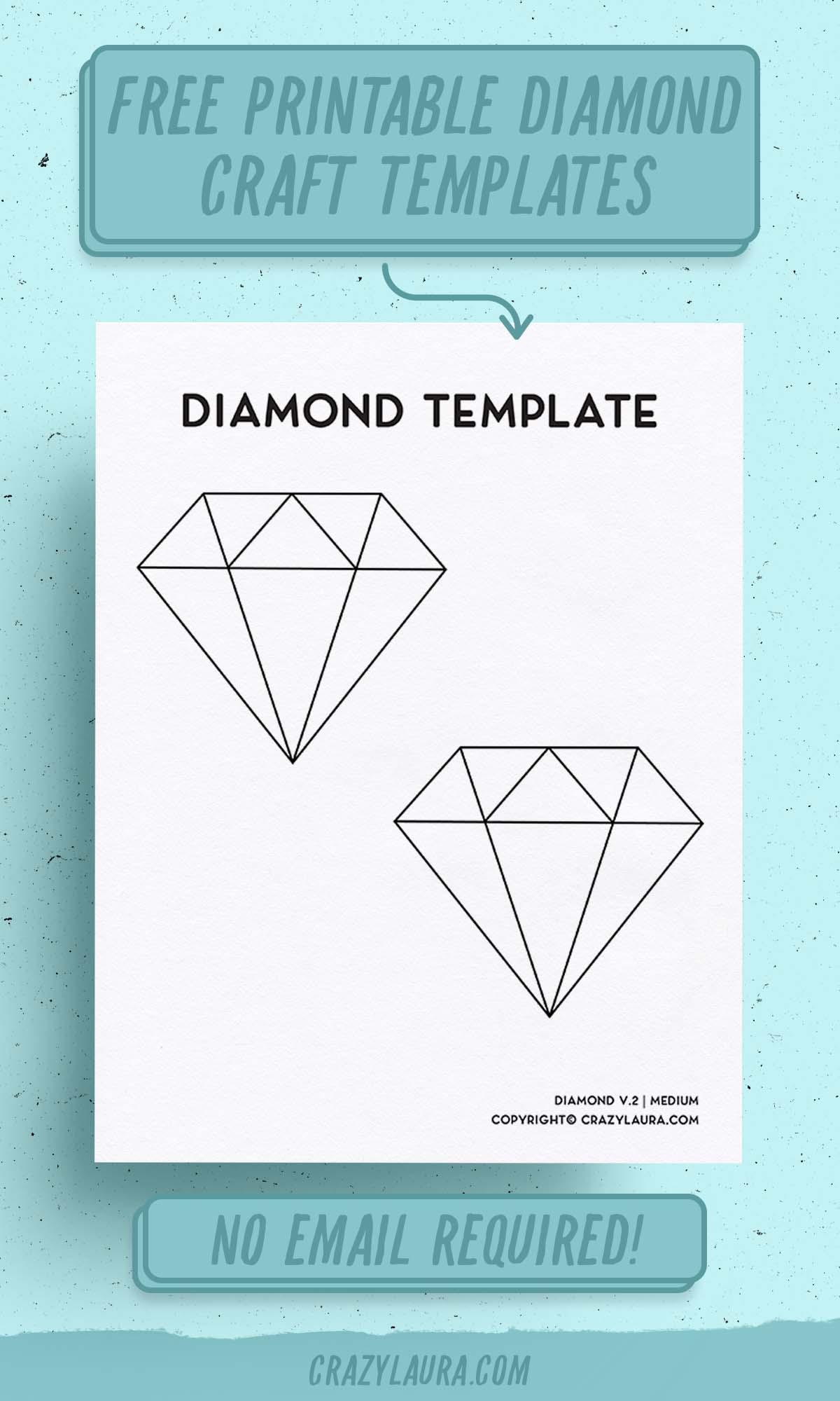 diamond cut and color templates