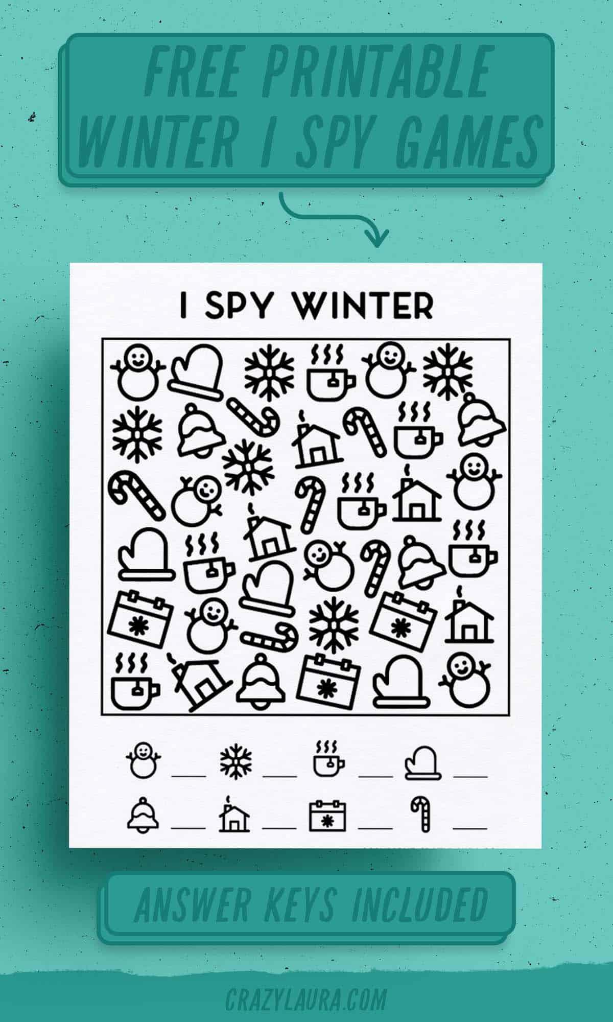 fun and free I spy for kids