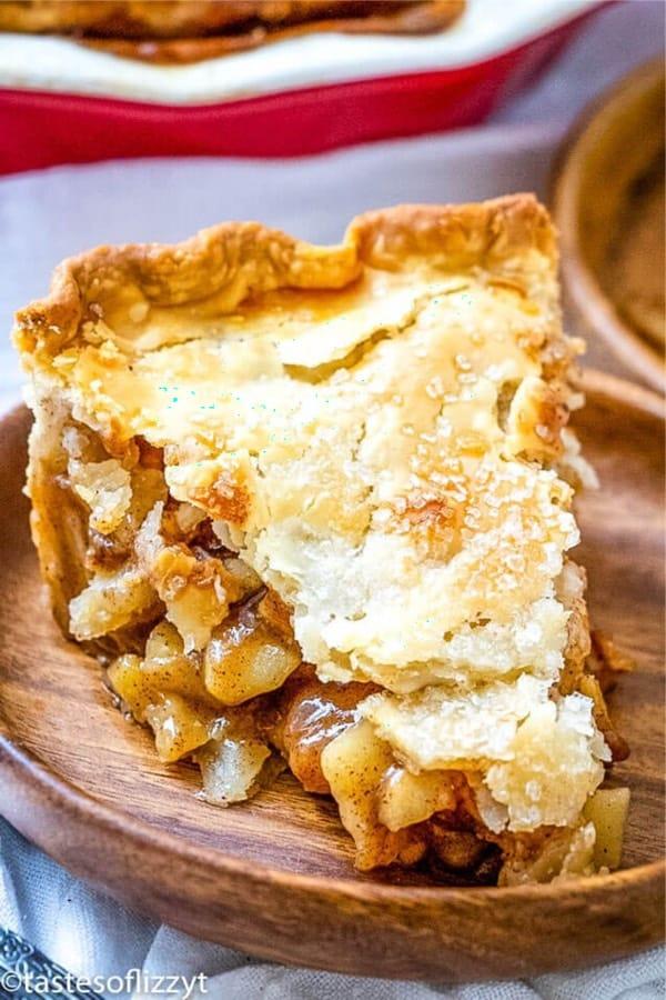 flaky crust apple pie recipe example