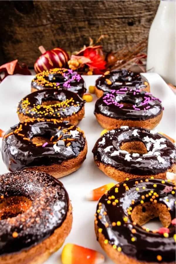 halloween themed diy donut recipe