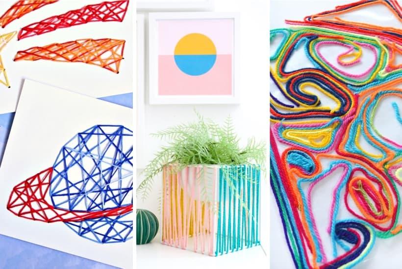 33+ Cheap & Creative Yarn Crafts For Inspiration