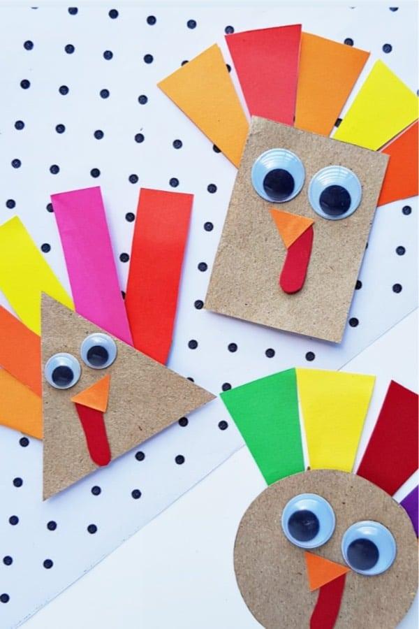 paper crafts to make around thanksgiving