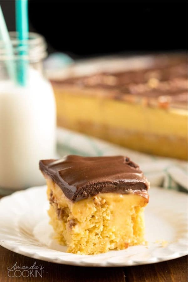 sheet cake filling recipe with boston cream
