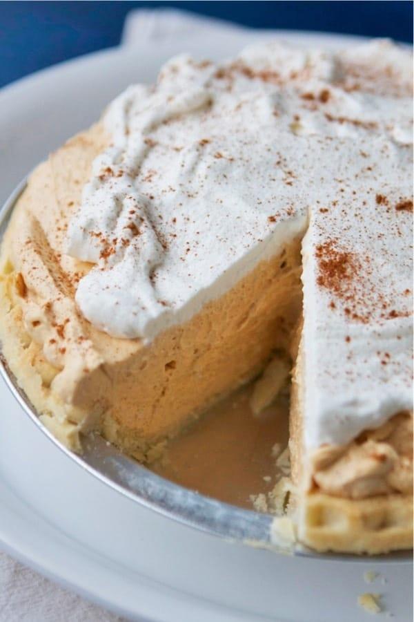 how to make no bake pumpkin cream pie