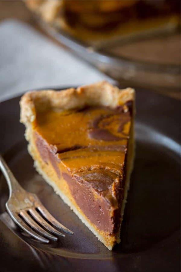 pumpkin pie variation recipe for thanksgiving