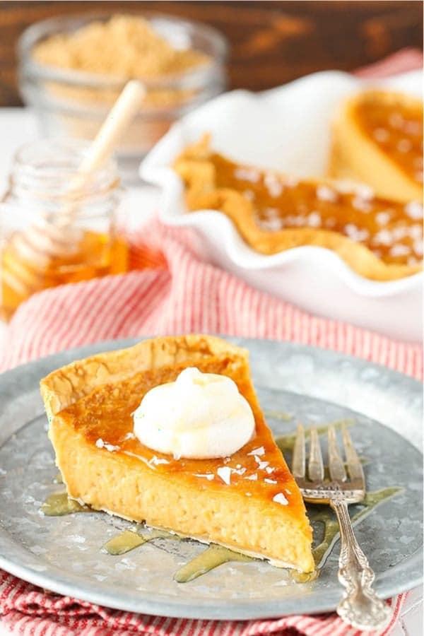 honey pie recipe to make for thanksgiving