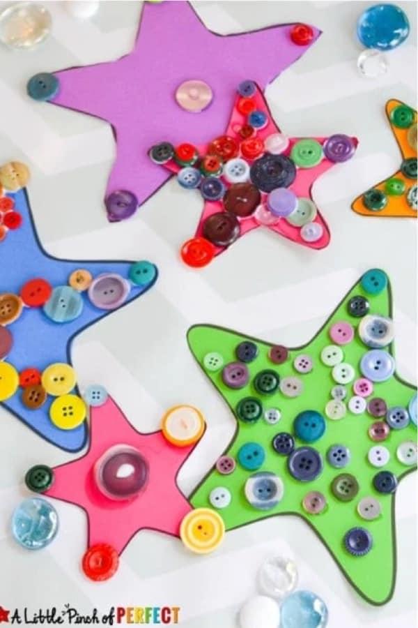 starfish ocean art project idea