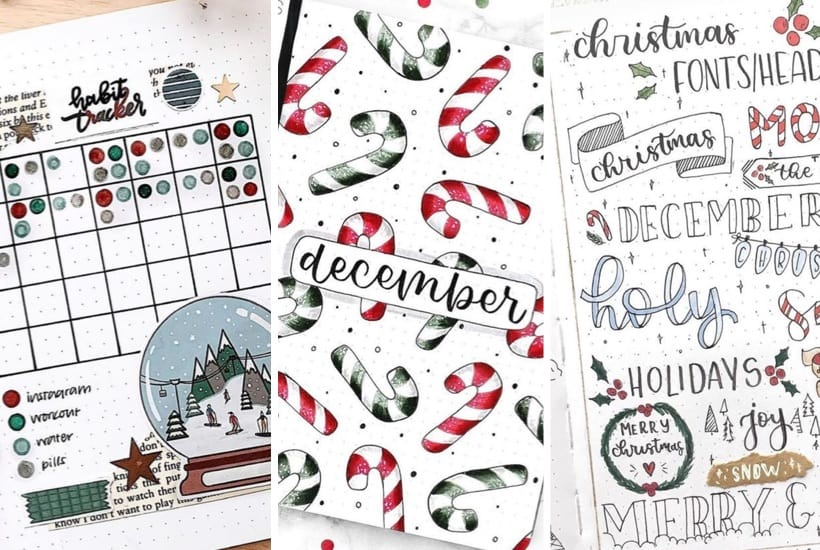 20+ Best Winter Bullet Journal Spreads For Inspiration