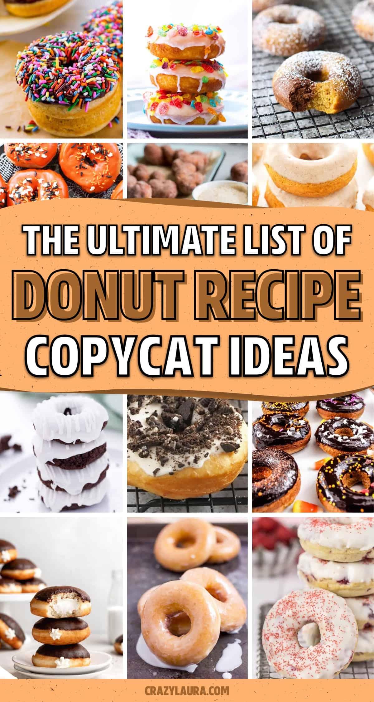 simple copycat donut recipe tutorials